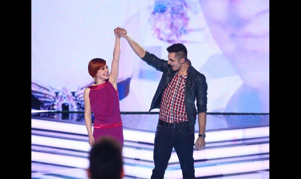 Oláh Gergő és Antal Tímea az X Faktor fináléjában