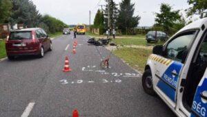 baleset Győr